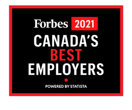 Forbes 2021 - Canada's best employers