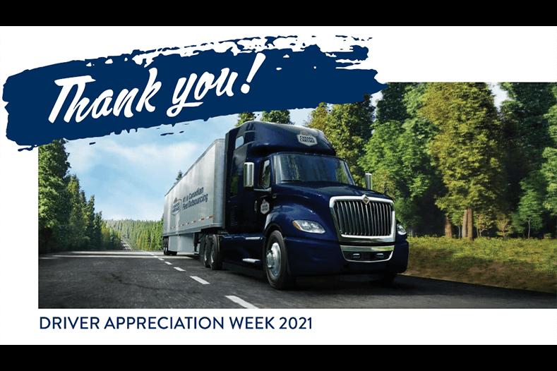 driver appreciation week 2021 website